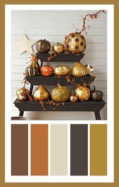Fall Pumpkins & fabulous paint colors