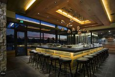 Restaurant Design Inspiration / luxury restaurants, best restaurants, restaurant design #restaurantdesign #luxuryrestaurants #bestrestaurants For more inspiration, visit: http://brabbucontract.com/projects