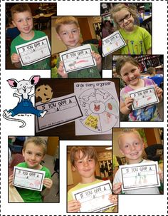 Circle Story Pre-Writing sheet and Book Template - Mrs. Bumgardner's 1st Grade Class
