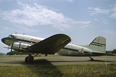 N56V was manufactured in 1944 for the US Military as a C-53-DO with serial number 4900.  It was later sold to Western Airlines and registered as NC18600.  In January 1956 it was purchased by Piedmont Airlines and named the Potomac Pacemaker with the registration changed to N56V.  It was removed from service in February 1963 and sold to Charlotte Aircraft to be used for spare parts and soon became a derelict.  In 1978 it was purchased by the North Carolina Nature Museum in Durham, NC and…