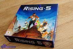 Blog na wolny czas: RISING 5 RUNY ASTEROS: kosmiczny Mastermind - recenzja gry Wydawnictwa 2 Pionki