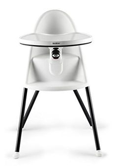 BABYBJORN High Chair, White - http://activelivingessentials.com/baby-essentials/baby-high-chairs/babybjorn-high-chair-white