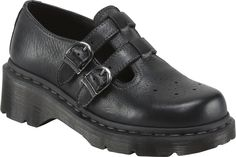 Dr. Martens Nancie Brogue T-Bar women's mary janes (Black)