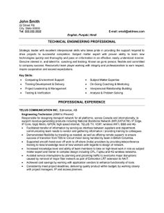 click here to download this engineering technician resume template httpwww - Motion Control Engineer Sample Resume