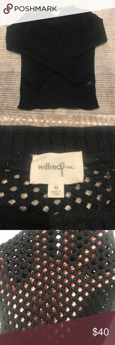 Wilfred Mesh Knit Sweater Wilfred Mesh Knit Sweater Wilfred Sweaters