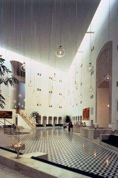 "amber-danique: "" Ministry of Foreign Affairs (Saudi Arabia), Henning Larsen Architects, 1984. """