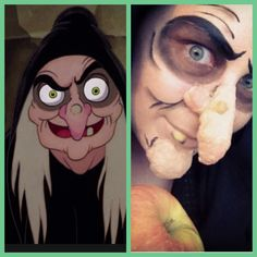Evil Witch from Snow White MAKEUP