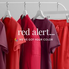 Find Red, Wine, Ruby and more red shades at www.uniformadvantage.com! Red Scrubs, Medical Scrubs, Shades Of Red, Red Wine, Suits, Shopping, Color, Colour