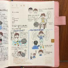 @megumi_shr - 今日はオットがお休みの日だった。#ほぼ日手帳 #ほぼ日カズン #ほぼ日手帳カズン #diary... - EnjoyGram