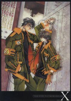 Fuuma and Kamui