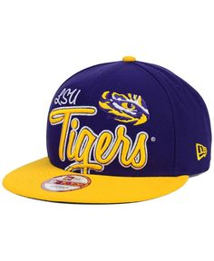 6913ecc9640 New Era LSU Tigers Team Script 9FIFTY Snapback Cap   Reviews - Sports Fan  Shop By Lids - Men - Macy s