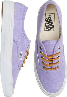 Vans lila con cordones marrones  Love it!