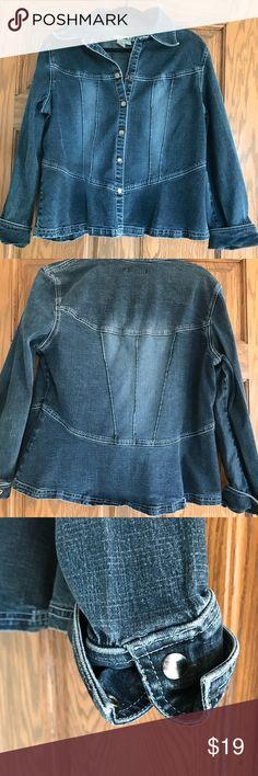 A.M.I. Denim jacket A.M.I. Denim jacket extra large excellent condition A.M.I. Jackets & Coats Jean Jackets