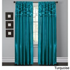 Lush Decor Circle Dream 84 inch Curtain Panels (Set of 2) | Overstock.com Shopping - The Best Deals on Curtains