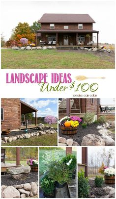 how to landscape for