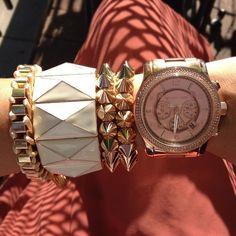 Think Pink. #mk #michaelkors #mkwatch #michaelkorswatch #fashion #watch #jewelry