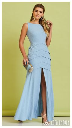 adjust to over lap the layers and taylor to pregnancy wear Red Bridesmaid Dresses, Grad Dresses, Modest Wedding Dresses, Stylish Dresses, Casual Dresses, Fashion Dresses, Simple Long Dress, Street Fashion Show, Tango Dress