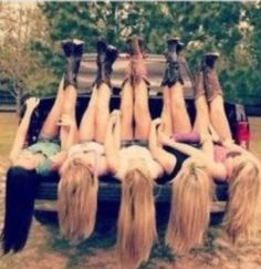 Cow boy boots and truck I should do this with my friends #selfie #bffs