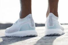 O novo tênis da Adidas foi feito com plástico retirado do oceano