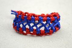 Joyas hechas a mano-bicolor tejidos patrones brazalete de cáñamo de moda para chicos - Pandahall