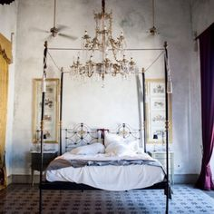 Our magical room in Mérida. This lovely city will take your breath away. #merida #coquicoqui #perfumeria #lepicerie #mexico