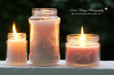 * Nicest Things - Food, Interior, DIY: DIY: Citronella Kerzen selber machen