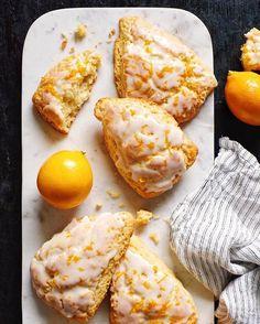 Fresh Meyer Lemon Scones made with seasonal Meyer lemons from @ralphsgrocery! A Meyer Lemon is a…
