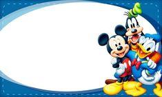 Etiqueta Escolar Personalizada Mickey e sua Turma 2 Mickey Mouse E Amigos, Mickey E Minnie Mouse, Mickey Mouse And Friends, Cubby Name Tags, Scrapbook Da Disney, Mickey Mouse Classroom, Walt Disney Characters, Photo Frame Design, Bookmark Craft
