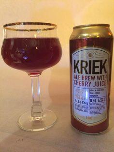 Kriek Ale Brew With Cherry Juice