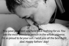 Happy Fathers Day Images: Are you looking Happy Fathers Day Images? If yes, here we are collect beautiful Happy Fathers Day Images 2017 for you. Happy Fathers Day Images, Father's Day Greetings, Wish Quotes, Dads, Good Things, Life, Beautiful, Fathers