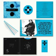"""Pre-order the limited edition Deluxe Boxset of ÷ on Ed's website [here].  This release includes: - 12"""" x 12"""" premium hardcover book with photos, lyrics and artwork - 2 x heavyweight blue vinyl, exclusive to this edition of the album - Deluxe CD album - Silver plated Divide charm and necklace, packaged separately - Deluxe digital album sent to you at release      ➗"""