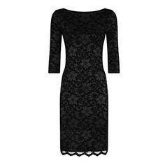 (ホットスカッシュ) HotSquash レディース ドレス パーティドレス HotSquash Red long sleeved lace dress with ThinHeat 並行輸入品  新品【取り寄せ商品のため、お届けまでに2週間前後かかります。】 カラー:ブラック 素材:-