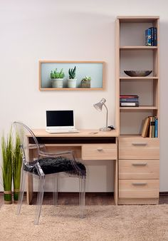 They could easily pass for vintage, but the Sheffield midcentury modern display units at Maisons Du Monde are modern-day designs. Desk In Living Room, Living Spaces, Tv Shelf, Shelves, Sheffield, Tv Regal, Airport Design, Italia Design, Modular Walls