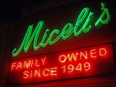 Miceli's in Hollywood is a fun Italian restaurant (2 locations) where the fine food and drink is accompanied by the excellent singing voices of the staff.  Conversations come to a halt whenever another server grabs the microphone and makes like American Idol.  These folks would be winners!