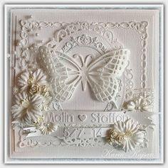 Kajsansscrapblog - Wedding card