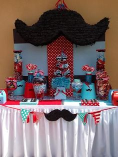"Photo 1 of 12: Mustache Baby Shower / Baby Shower/Sip & See ""It's a Boy.."" 