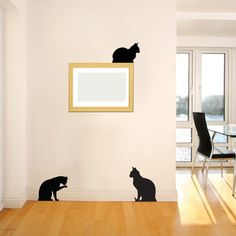 Cat Company Decal Set, $20, now featured on Fab.