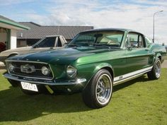 Ford Mustang Fastback GTA dark moss green - 1967 - Full-Size Picture 03CDC593121707J