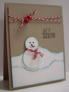 Frosty by Loll Thompson - Cards and Paper Crafts at Splitcoaststampers