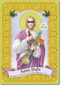 You'll love it... so funny! St Dude Card