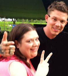 1st time meeting Chris Rene :)