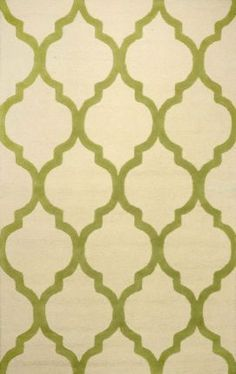 Designer rugs at 60% off! Rugs USA Tuscan Moroccan Trellis VS128 Green Rug
