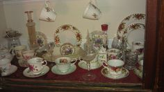 English Bone China and Bavarian China Collection