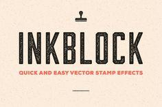 Inkblock – Illustrator Actions by Sivioco on Creative Market
