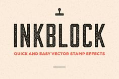 Inkblock – Illustrator Actions by Sivioco on Creative Market