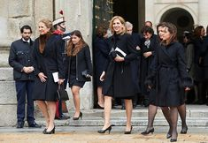 Spanish Royals attend memorial service for 25th anniversary of death of Infante Juan