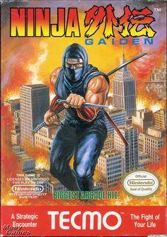 Ninja Gaiden NES Front Cover