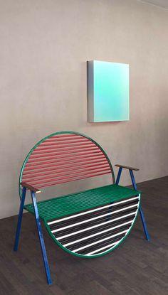 Kinfolk magazine launches Copenhagen gallery with exhibition of European design Design Furniture, Unique Furniture, Chair Design, Home Interior, Interior Decorating, Table Sofa, Love Chair, Memphis Design, Intelligent Design