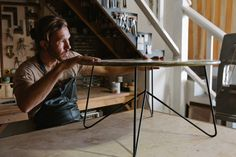 Freunde von Freunden — Sean Woolsey, Artist & Furniture Maker, Costa Mesa, California