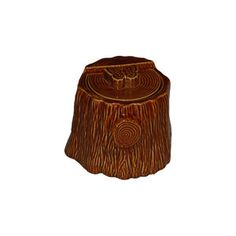 Faux Bois Treat Jar Brown, $52, now featured on Fab.